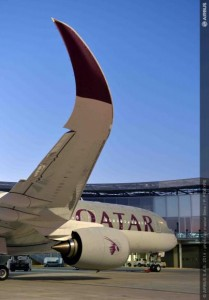 A350 Qatar Airways - Foto. Bildarchiv Airbus