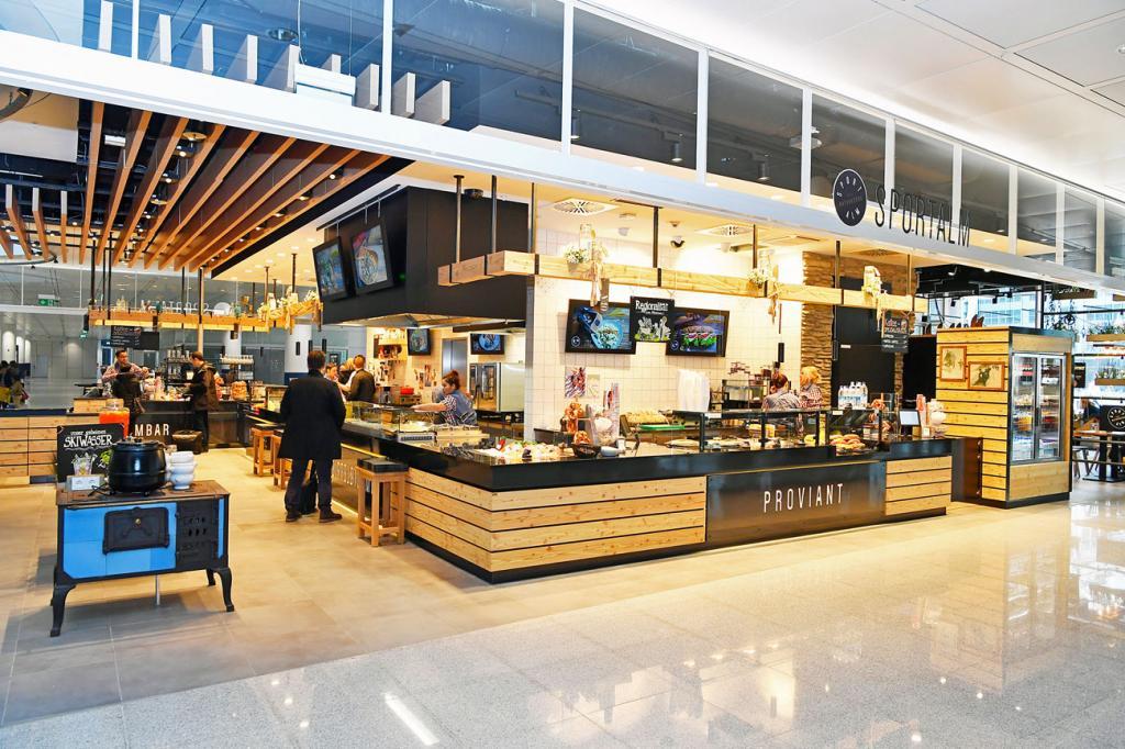 flughafen m nchen neues restaurant im terminal 2. Black Bedroom Furniture Sets. Home Design Ideas