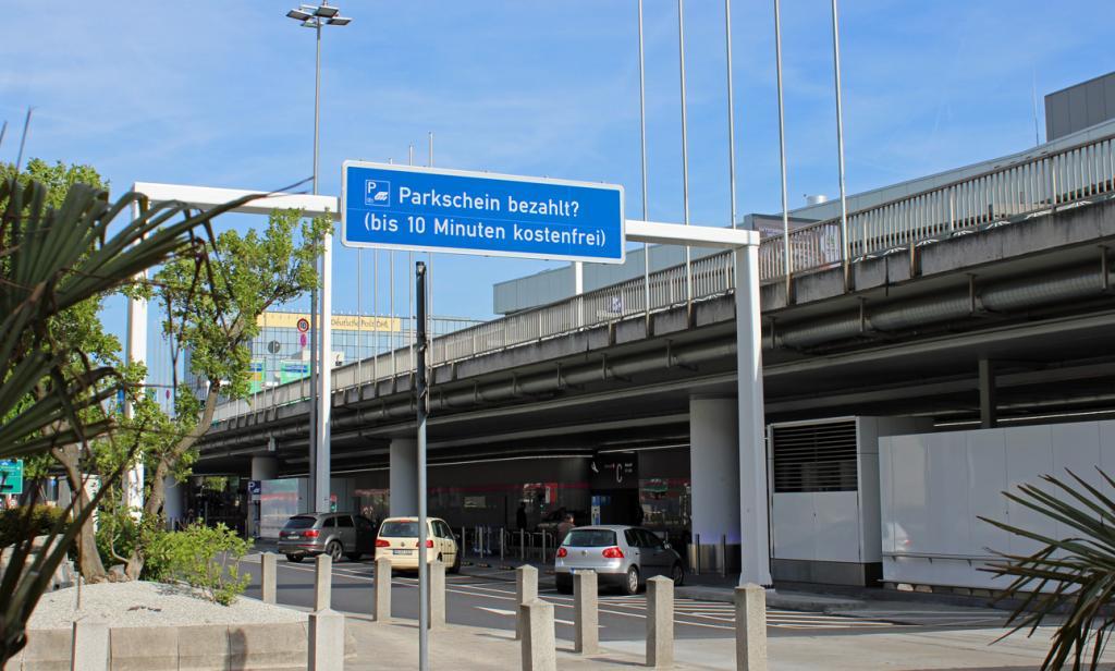 Frankfurt Airport Parkplatz