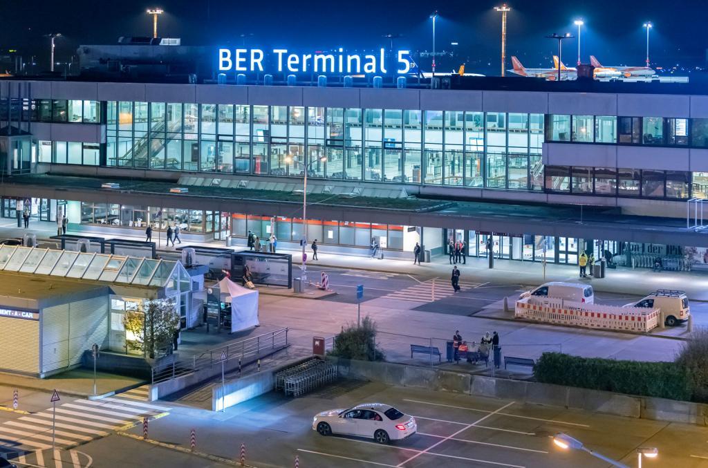 Eröffnung Berliner Flughafen